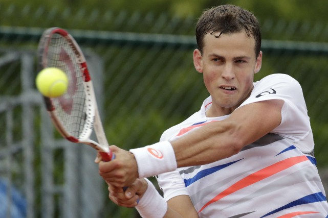 Vasek Pospisil... (Photo archives AFP)