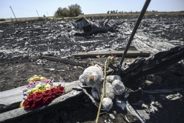 Le Boeing777 de Malaysia Airlines, abattu par un... (PHOTO BULENT KILIC, AFP)