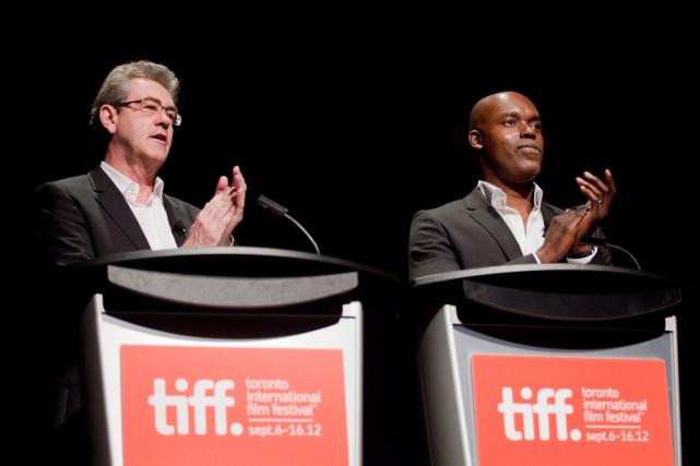 Les codirecteurs duFestival international du film de Toronto... (PHOTO MICHELLE SIU, ARCHIVES PC)