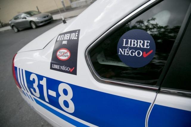 Selon nos informations, des policiers qui ont travaillé... (PHOTO DAVID BOILY, LA PRESSE)