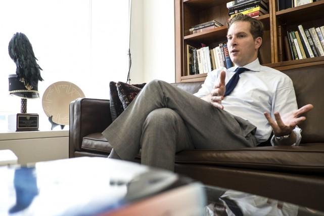 Noah Feldman, expert du droit constitutionnel.... (Photo Leonie Marinovich, collaboration spéciale)