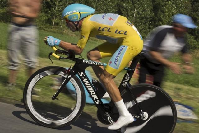 Vincenzo Nibalia maintenant une priorité de sept minutes... (PHOTO LIONEL BONAVENTURE, AFP)