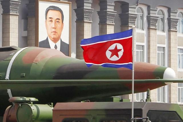 La Corée du Sud a réclamé mardi la suspension des «droits et privilèges» de la... (PHOTO NG HAN GUAN, ARCHIVES AP)
