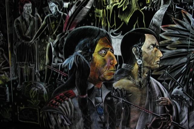 Une verrière panoramique de l'artiste Nicolas Sollogoub sera... (PHOTO FOURNIE par le Musée Pointe-à-Callière)