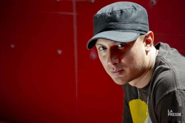 Le rappeur algonquin Samian... (Photo David Boily, La Presse)