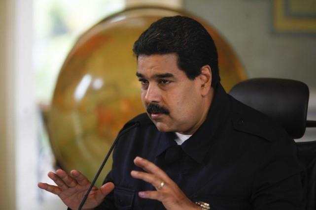 Le président du Venezuela Nicolas Maduro.... (Photo ARCHIVES REUTERS)