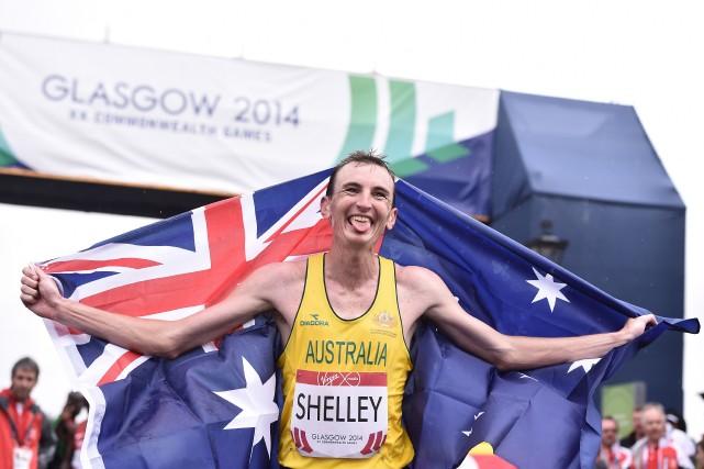 L'Australien de 30 ans, deuxième à New Delhi... (Photo ANDREJ ISAKOVIC, AFP)