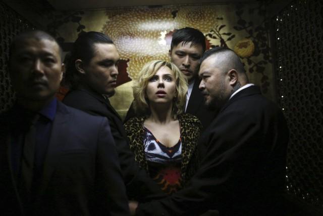 Scarlett Johansson dans une scène de Lucy.... (PHOTO AP/UNIVERSAL PICTURES)