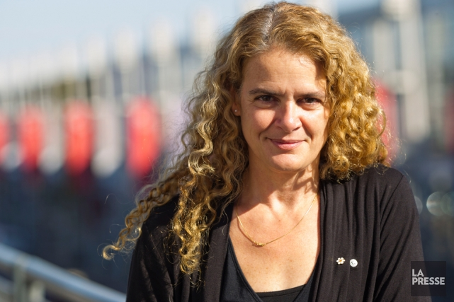 Julie Payette dirige actuellement le Centre des sciences... (PHOTO OLIVIER JEAN, ARCHIVES LA PRESSE)