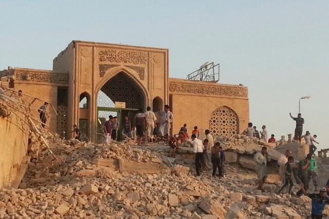Parmi les bâtiments religieux détruits à Mossoul la... (PHOTO ARCHIVES REUTERS)