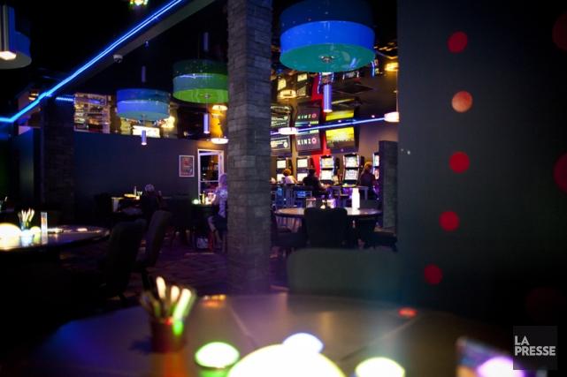 Les salons de jeu Kinzo, dont les premières... (PHOTO SARAH MONGEAU-BIRKETT, LA PRESSE)
