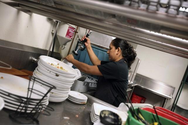 Ce sont les secteurs les moins «payants »,... (Photo Tim Boyle, Archives Bloomberg)