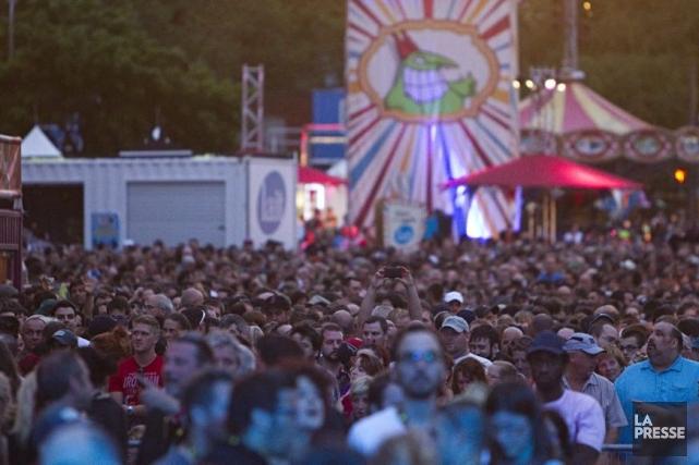 Parmi les moments forts de l'événement 2014, nul... (Photo: Alain Décarie, collaboration spéciale La Presse)