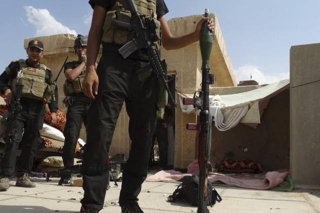 L'Irak fait face depuis début juin à une... (Photo REUTERS)