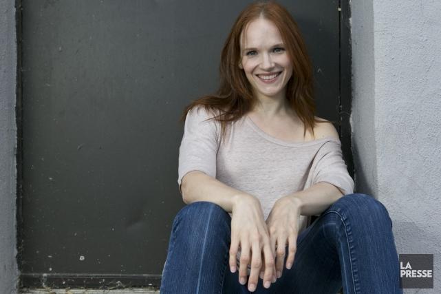 La comédienne Marianne Farley s'est associée à des... (Photo: Hugo-Sébastien Aubert, La Presse)