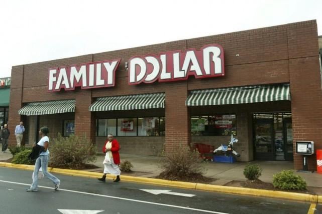Un magasin Family Dollar à Charlotte, en caroline... (Photo Ross Taylor, archives AP)