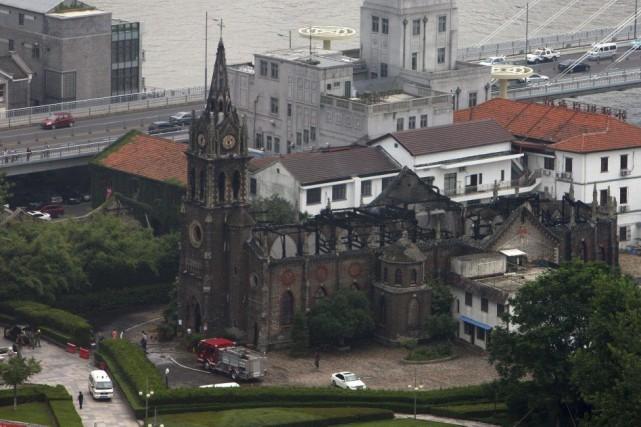 Située au centre de Ningbo, métropole de la... (Photo AFP)