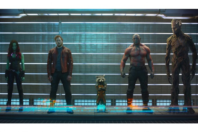 Gamora, Peter Quill Star-Lord, Rocket, Drax the Destroyer... (Photo: fournie par Disney)