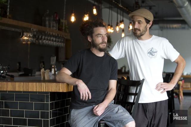 Maxime et Jérémy Daniel-Six, les deux frères de... (Photo Olivier Jean, La Presse)