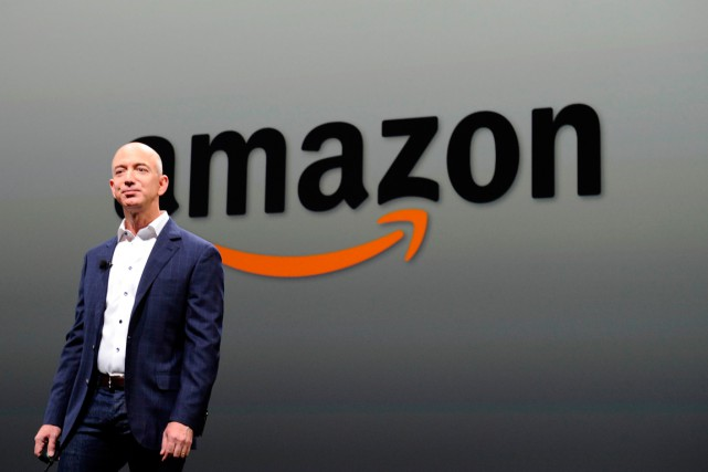 Le fondateur et actuel PDG d'Amazon, Jeff Bezos.... (PHOTO JOE KLAMAR, ARCHIVES AGENCE FRANCE-PRESSE)