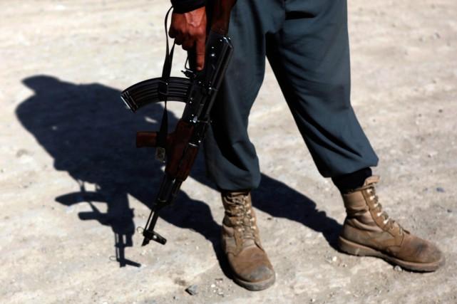 Les tirs de joie sont très courants dans... (Photo Mohammad Ismail, archives Reuters)
