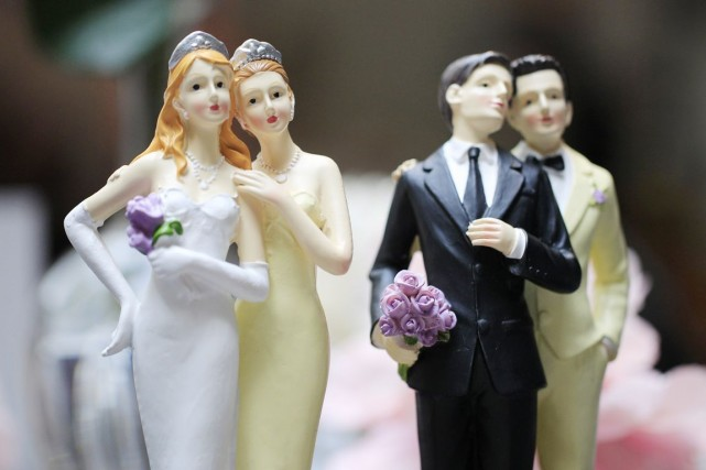 La reconnaissance des mariages par l'État fédéral ouvre... (PHOTO GONZALO FUENTES, ARCHIVES REUTERS)