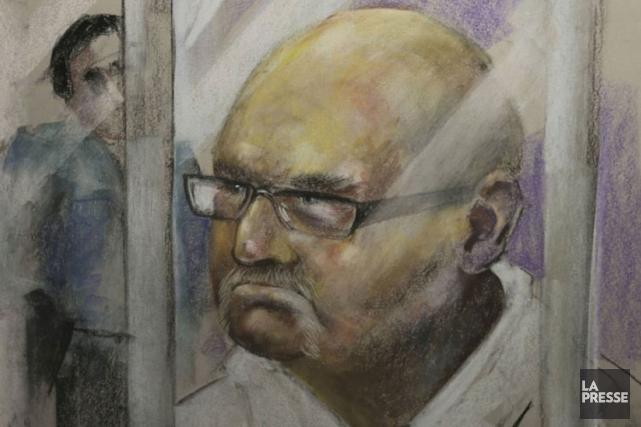 Richard Henry Bainest accusé de meurtre prémédité et... (PHOTO D'ARCHIVES)