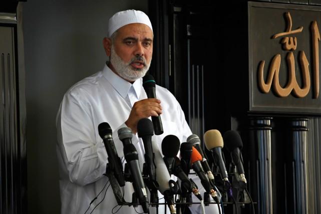 Le dirigeant du Hamas à Gaza Ismaïl Haniye.... (Photo Adel Hana, archives Associatd Press)