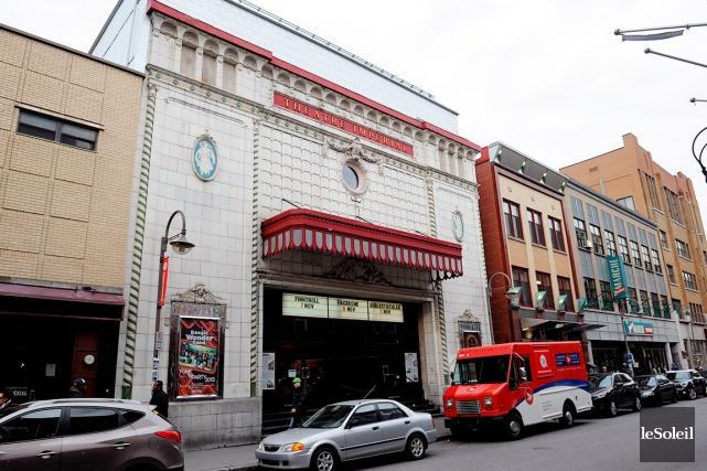 La salle de spectacles était la propriété de... (Photothèque Le Soleil, Erick Labbé)