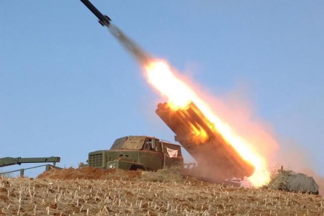 Les exportations d'armes sont une source cruciale de... (Archives AFP)