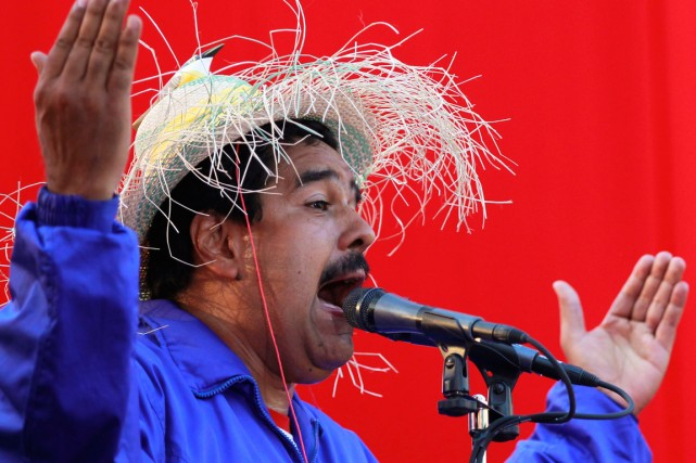Le président du Venezuela, Nicolas Maduro.... (Photo Carlos Garcia Rawlins, archives Reuters)