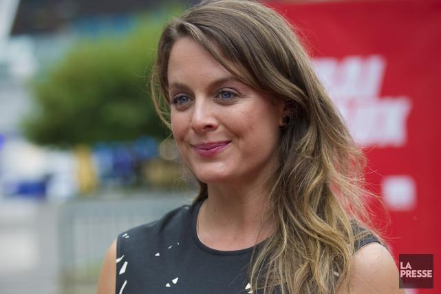 Julie Le Breton... (Photo: André Pichette, archives La Presse)