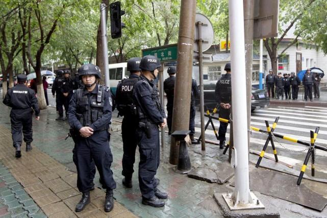 La province chinoise du Xinjiang a été le... (PHOTO ANDY WONG, ARCHIVES AP)