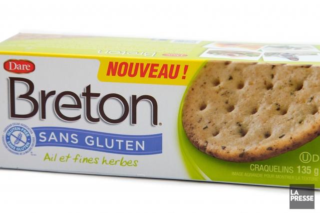 Breton sans gluten, ail et fines herbes, 3,49... (PHOTO ALAIN ROBERGE, LA PRESSE)