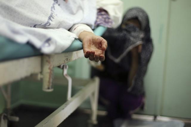 Depuis le début de l'opération israélienne le 8... (PHOTO MOHAMMED SALEM, REUTERS)