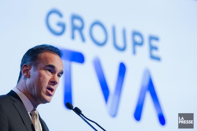 Pierre Dion, nouveau PDG de Québécor... (Photo Edouard Plante-Fréchette, La Presse)