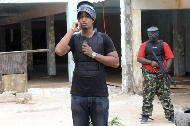 Les rappeurs sénégalais Xuman et Keyti.... (Photo: AFP)