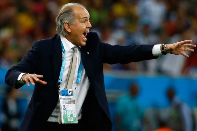 Le sélectionneur argentin Alejandro Sabella.... (Photo Kai Pfaffenbach, Reuters)