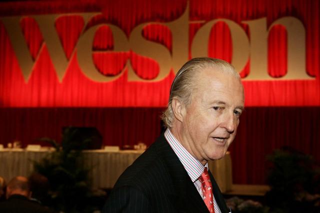 Galen Weston, président du conseil de George Weston.... (Photo Archives PC)