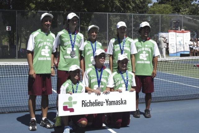 L'équipe de tennis de Richelieu-Yamaska avait remporté la...
