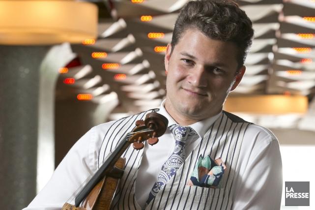On pourra entendre le violoniste québécois Alexandre Da... (Photo: Hugo-Sébastien Aubert, La Presse)