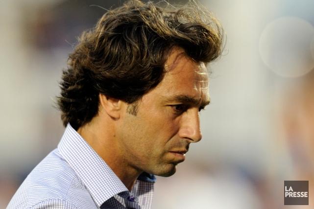 Nick De Santis n'est plus le directeur sportif... (Photo Bernard Brault, archives La Presse)