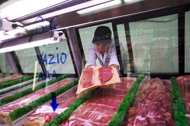 L'étiquetage de la viande va être simplifié et les morceaux seront classés de... (Photo: archives La Presse Canadienne)