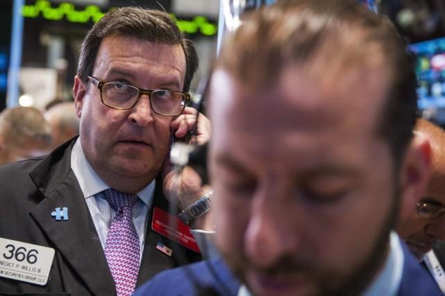 «Le marché des actions américain dépasse un peu... (PHOTO LUCAS JACKSON, REUTERS)