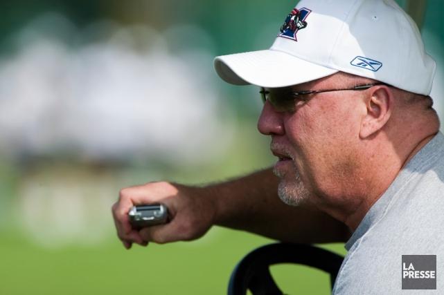 Don Matthews a été l'entraîneur-chef des Alouettes pendant... (François Roy, archives La Presse)