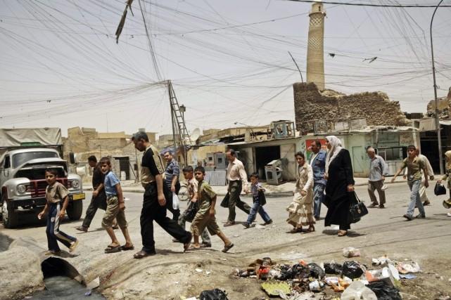 Les insurgés ont menacé de s'en prendre au... (Photo Maya Alleruzzo, Archives AP)
