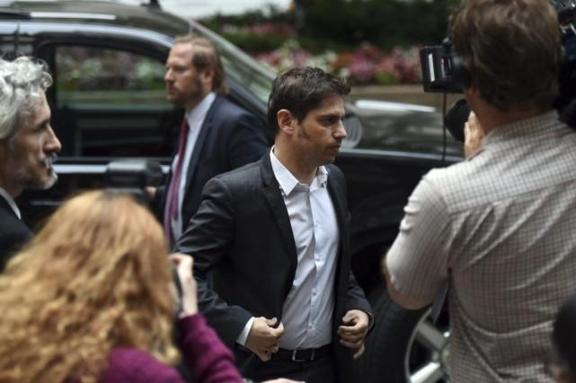 Le ministre argentin de l'Économie Axel Kicillof (notre... (PHOTO DON EMMERT, AFP)