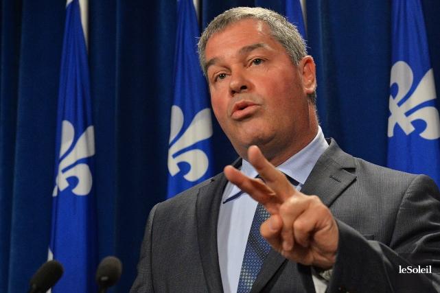 Le ministre de l'Éducation Yves Bolduc.... (Photothèque Le Soleil, Patrice Laroche)