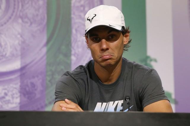 Rafael Nadal... (Agence France-Presse)