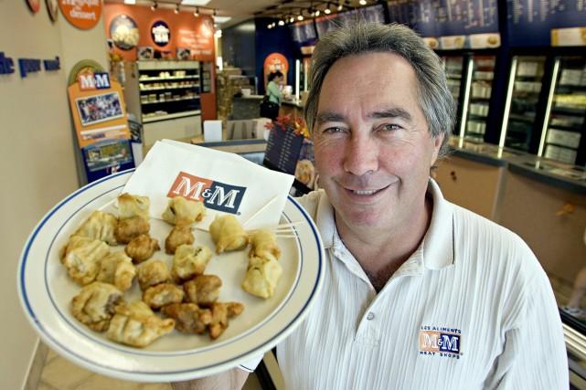 Mac Voisin, qui a fondé Les Aliments M&M... (Photo Paul Chiasson, Archives PC)